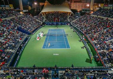 Dubai Duty Free Tennis Stadium